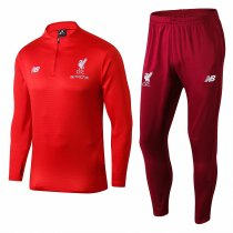 Liverpool Training Suit Zipper Red 2018/19