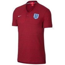 England FIFA World Cup 2018 Polo Shirt Red - Low Neck