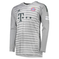 Bayern Munich Goalkeeper Grey Jersey Long Sleeve Men's 2018/19