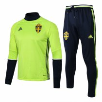 Sweden Training Suit Green 2016/17