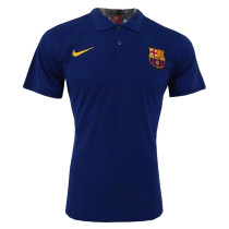 Barcelona Polo Shirt Blue 2018