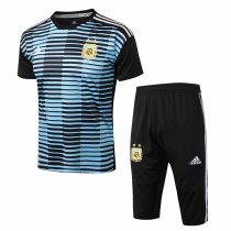Argentina FIFA World Cup 2018 Short Training Suit Blue Stripe