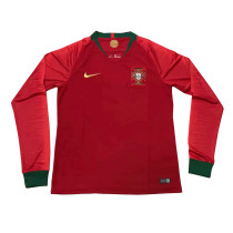 Portugal FIFA World Cup 2018 Home Jersey Long Sleeve Men's