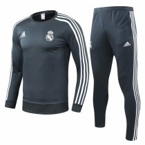 Real Madrid Training Suit O'Neck Grey 2018/19