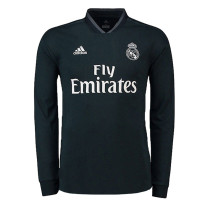 Real Madrid Away Jersey Long Sleeve Men's 2018/19