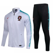 Portugal FIFA World Cup 2018 Jacket + Pants Training Suit White