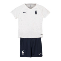 France FIFA World Cup 2018 Away Jersey Kids' -2-Star