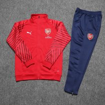 Arsenal Jacket + Pants Training Suit Red 2018/19