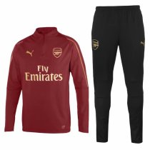 Arsenal Training Suit Maroon 2018/19