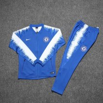 Chelsea Jacket + Pants Training Suit Blue 2018/19
