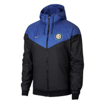 Inter Milan Authentic Woven Windrunner Blue 2018/19