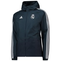 Real Madrid Authentic Woven Windrunner Dark Grey 2018/19