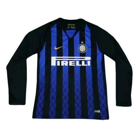 Inter Milan Home Jersey Long Sleeve Men's 2018/19
