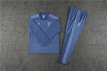 Palmeiras Training Suit V'Neck Blue 2018/19