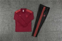 Flamengo Training Suit V'Neck Red 2018/19