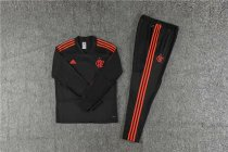 Flamengo Training Suit V'Neck Black 2018/19