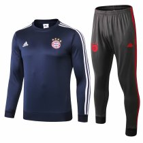 Bayern Munich Training Suit O'Neck Blue 2018/19