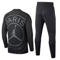 PSG x Jordan Training Suit O'Neck Black 2018/19