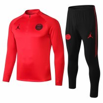 PSG x Jordan Training Suit Red 2018/19