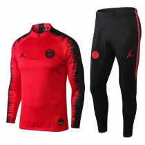 PSG x Jordan Training Suit Red Stripe 2018/19