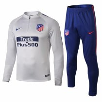 Atletico Madrid Training Suit Light Grey 2018/19