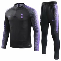 Tottenham Hotspur Training Suit Black Stripe 2018/19