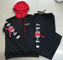 867b0a014 Jordan Hoodie Jacket + Pants Training Suit Black 2019