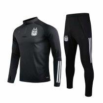 Mens Argentina Training Suit Black 2020/21
