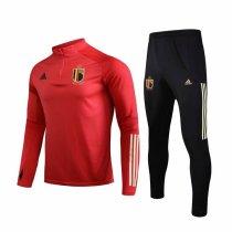 Mens Belgium Training Suit Red 2019/20