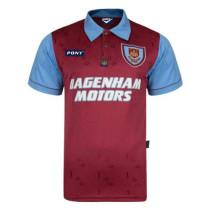West Ham United Retro Centenary Jersey Mens 1995