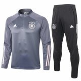 Mens Germany Training Suit Grey 2020/21