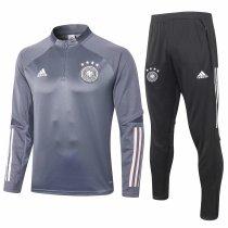 Mens Germany Training Suit Grey 2020/21