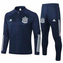 Mens Spain Jacket + Pants Training Suit Navy 2020/21