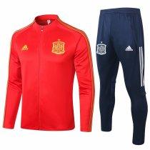 Mens Spain Jacket + Pants Training Suit Red 2020/21