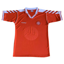 Denmark Home Retro Jersey Mens 1998