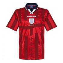 England Retro Away Jersey Mens 1998