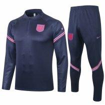 Mens England Training Suit Navy 2020/21