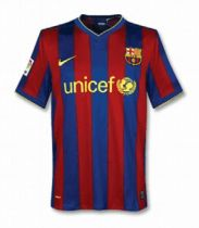 Barcelona Retro Home Jersey Mens 2009/10
