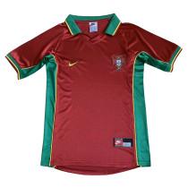 Portugal Retro Home Jersey Mens 1998