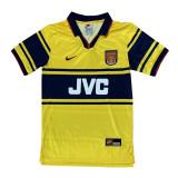 Arsenal Retro Away Jersey Mens 1997