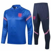 Mens England Training Suit Blue 2020/21