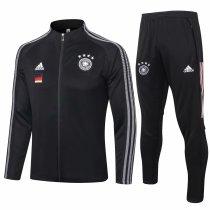 Mens Germany Jacket + Pants Training Suit Black 2020/21