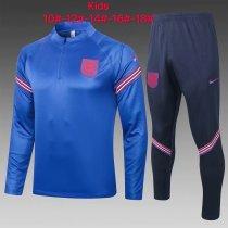 Kids England Training Suit Blue 2020/21