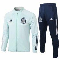 Mens Spain Jacket + Pants Training Suit Mint Green 2020/21