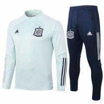 Mens Spain Training Suit Mint Green 2020/21