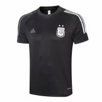 Mens Argentina Short Training Jersey Mens Black 2020/21
