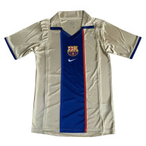 Barcelona Retro Away Jersey Mens 2002
