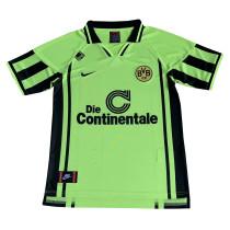 Borussia Dortmund Retro Home Jersey Mens 1996