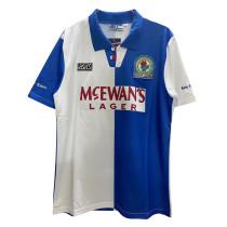 Blackburn Rovers Retro Home Jersey Mens 1994/95