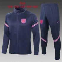 Kids England Jacket + Pants Training Suit Navy 2020/21